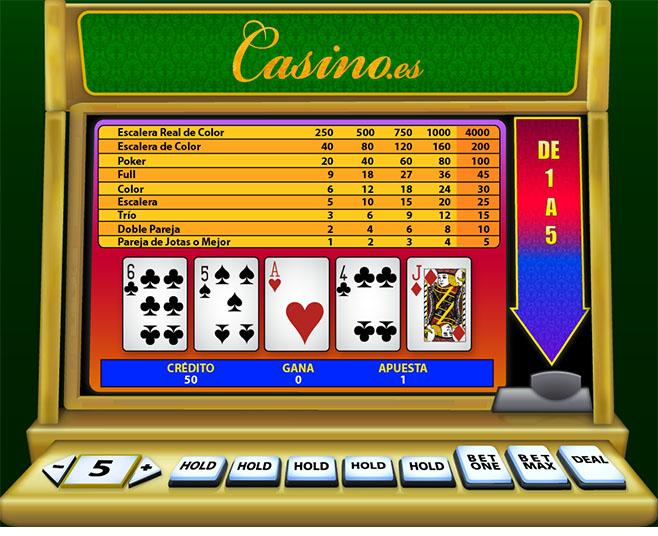 Juegos de maquinas poker tragamonedas